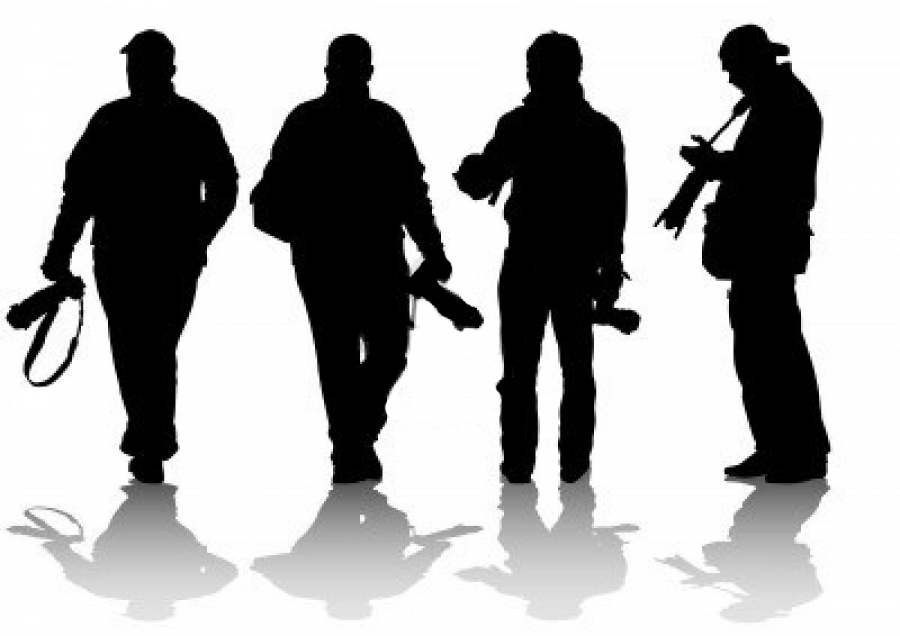 Silhouette of Photographers